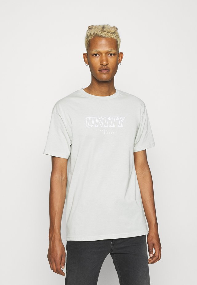 UNITY UNISEX - Print T-shirt - mint