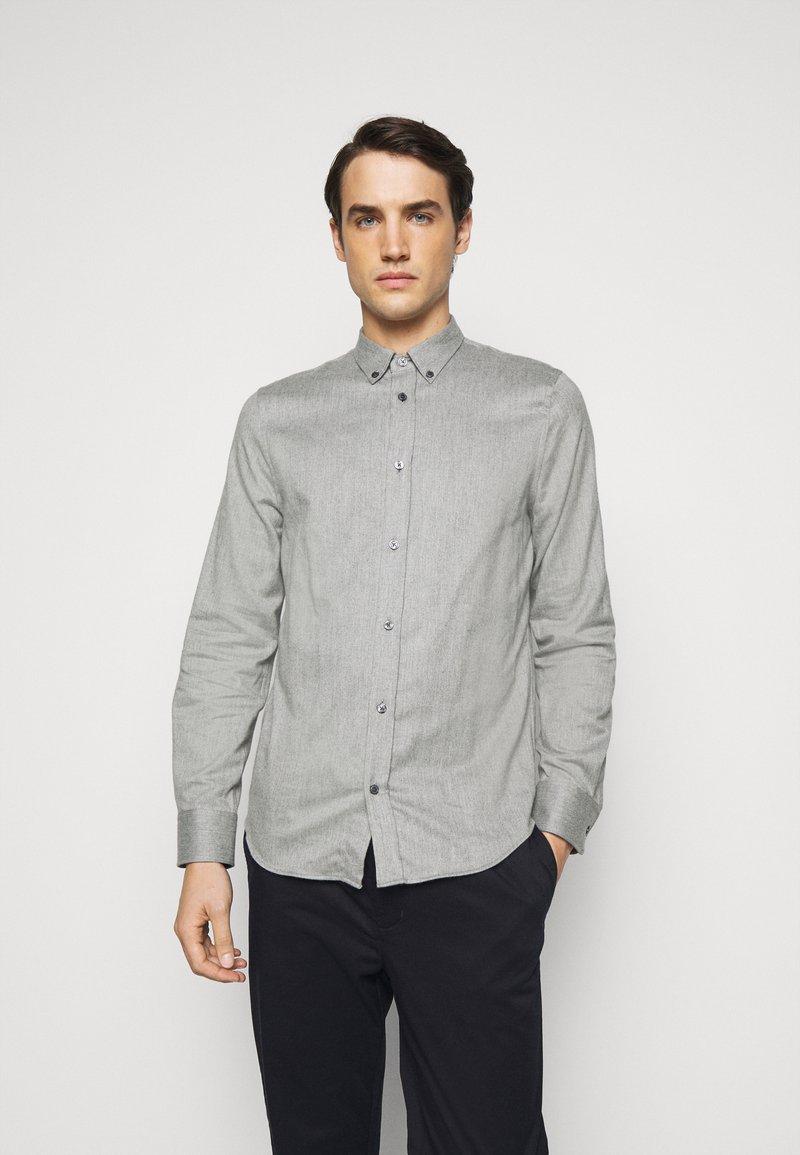 Filippa K - M. LEWIS - Košile - grey melange