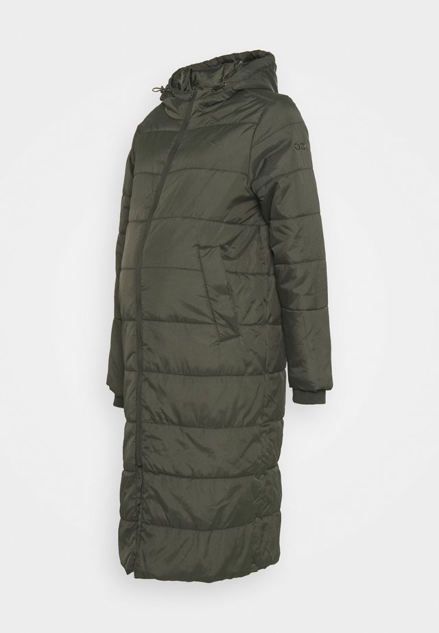 PENELOPE PUFFER MATERNITY - Winter coat - khaki