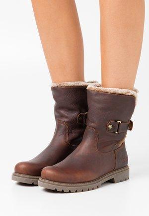FELIA - Winter boots - castaño/chestnut