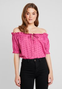 Nly by Nelly - OFF SHOULDER - Blouse - pink - 0