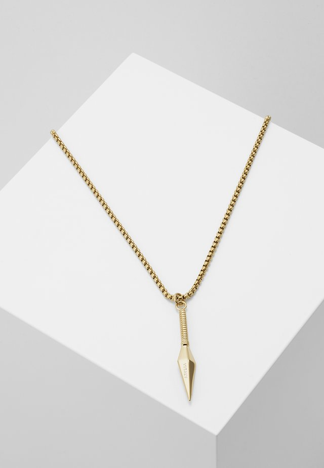 KUNAI UNISEX - Necklace - gold-coloured