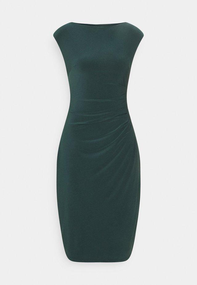 MID WEIGHT DRESS - Shift dress - midnight spruce