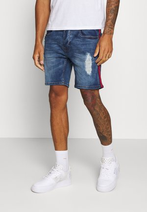 BAILEYTAPE - Denim shorts - blue