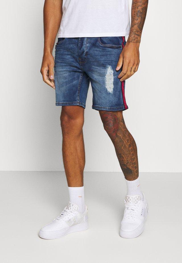 BAILEYTAPE - Jeans Shorts - blue