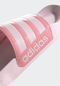 adidas Performance - ADILETTE SHOWER SWIM - Chanclas de baño - pink - 7