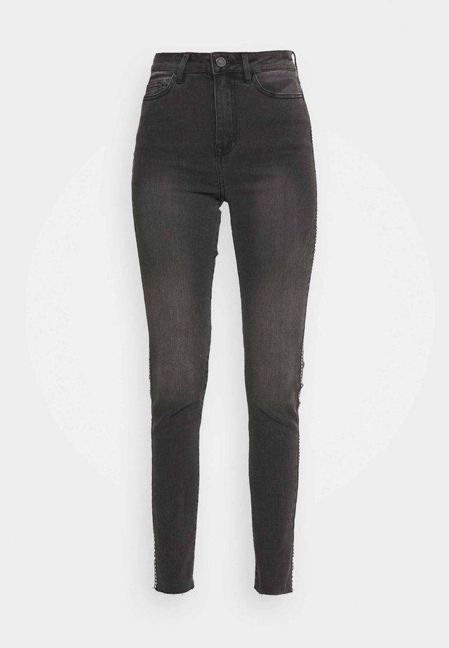 VIEKKO - Jeans Skinny Fit - dark grey denim