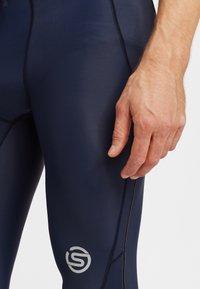 Skins - SKINS - Leggings - navy blue - 3