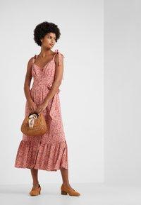 J.CREW - Maxi dress - peach/multi - 1
