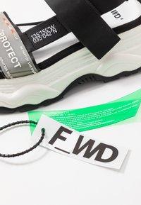 F_WD - Platform sandals - black - 7