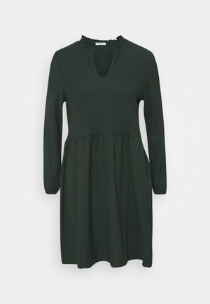 ONLZILLE SOLID V NECK DRESS - Hverdagskjoler - pine grove