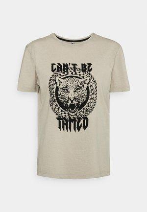 JDYBOUNTY LIFE PRINT - T-shirt print - dune