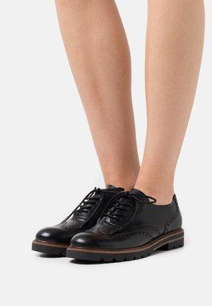 Zapatos de vestir - black box