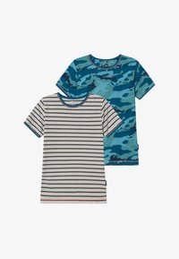 Claesen's - BOYS 2 PACK - Undershirt - dark blue/turquoise/mint - 3
