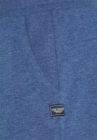 TOM TAILOR - Shorts - after dark blue/white melange - 2