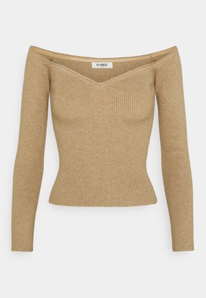 CHRISTY - Strickpullover - beige