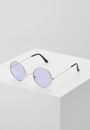ONSSUNGLASSES ROUND - Sluneční brýle - new purple/gold-coloured