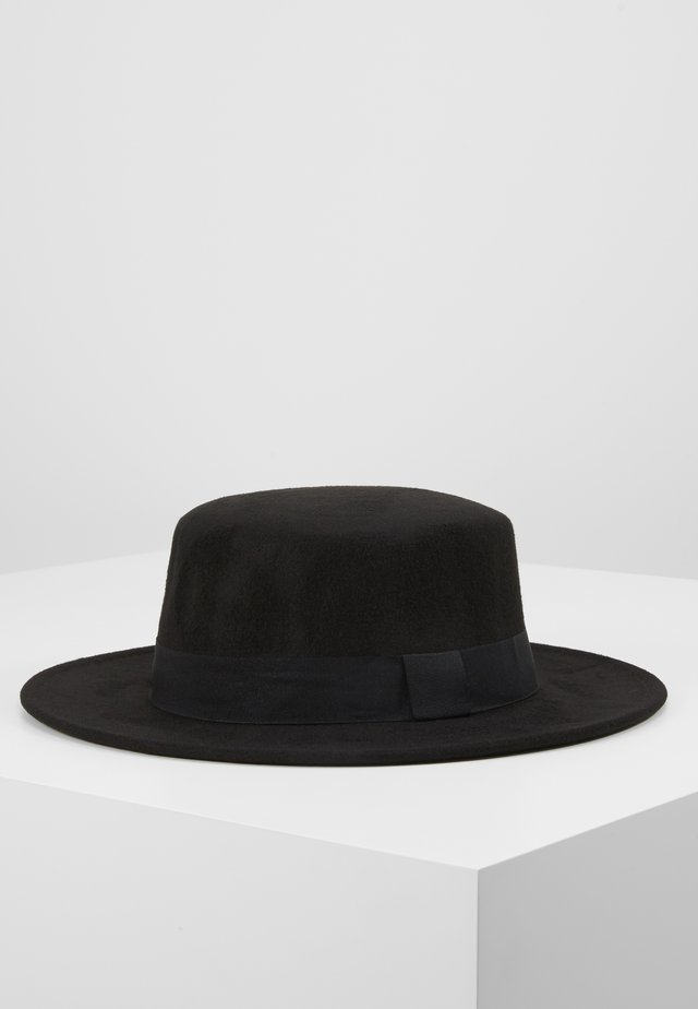 BOATER HAT - Hatt - black