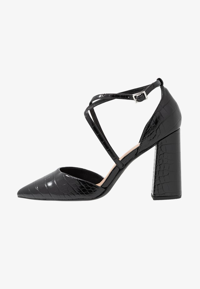 WIDE FIT SNARE - High Heel Pumps - black