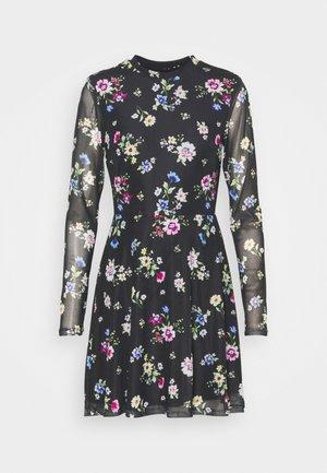 Vestido informal - black /blue/rose
