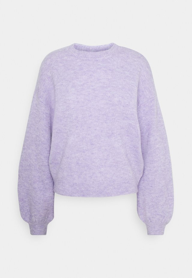 PCSANY O-NECK - Pullover - lavender