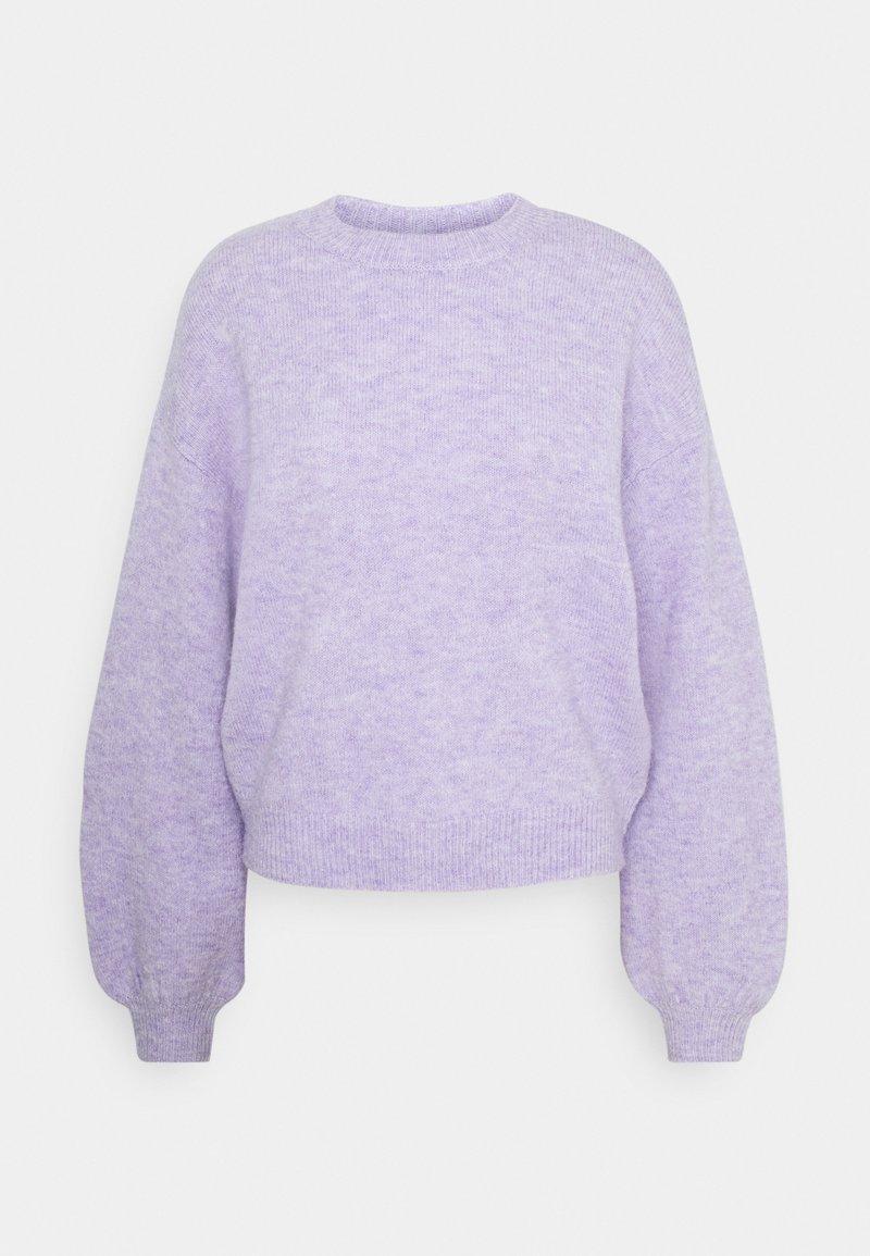 Pieces - PCSANY O-NECK - Jumper - lavender