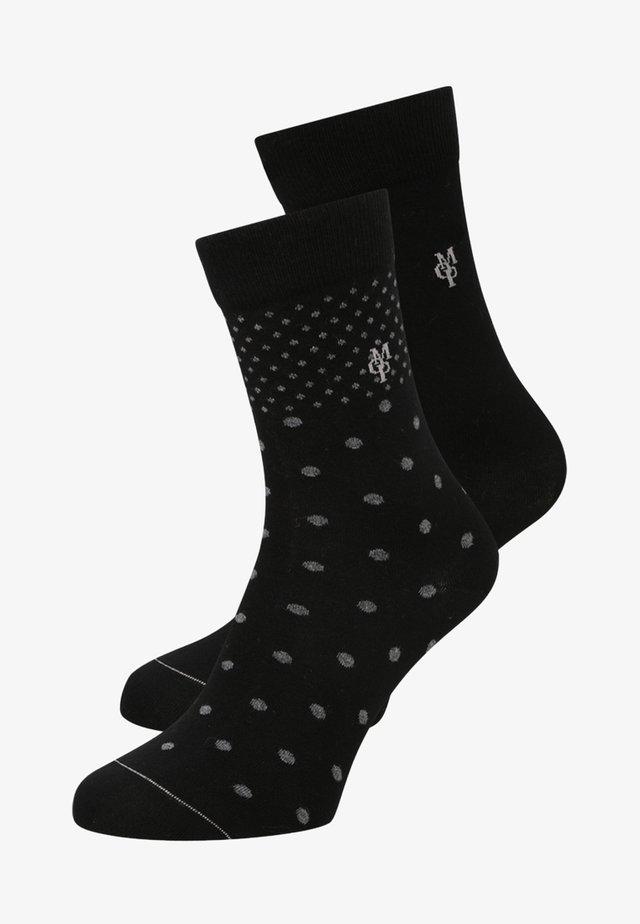 2 PACK - Chaussettes - black