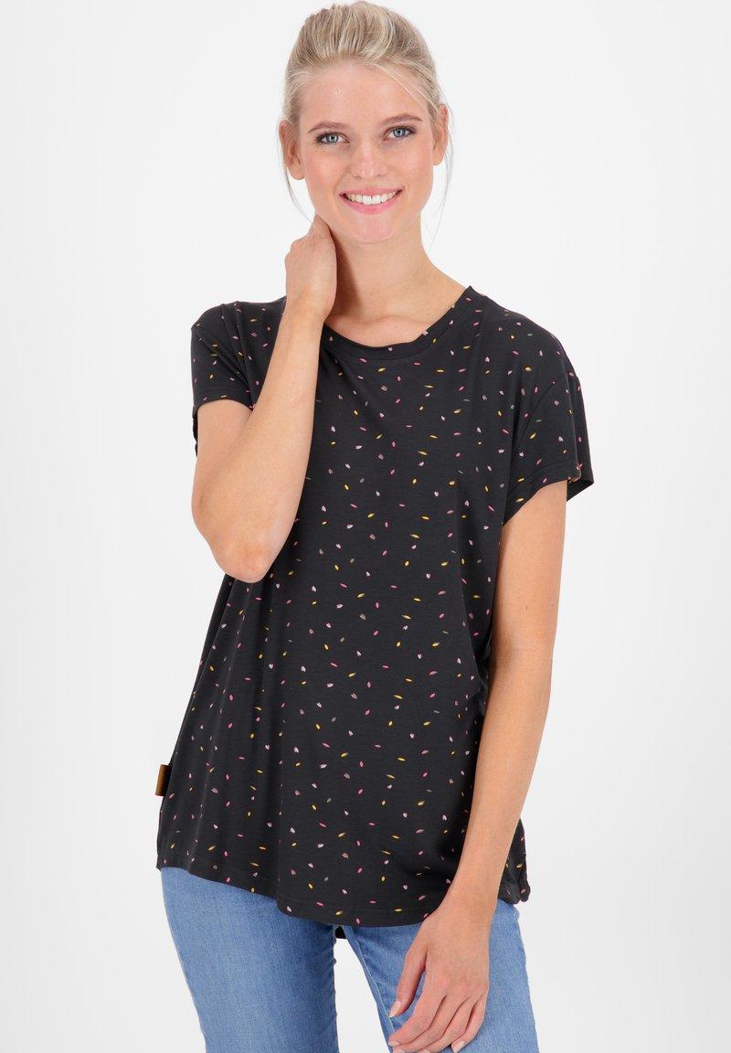 alife & kickin - MIMMY B  - Print T-shirt - moonless