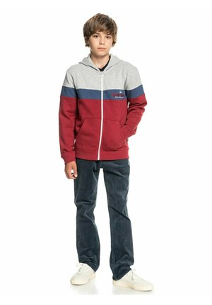 MIT REISSVERSCHLUSS FÜ - Zip-up sweatshirt - american red