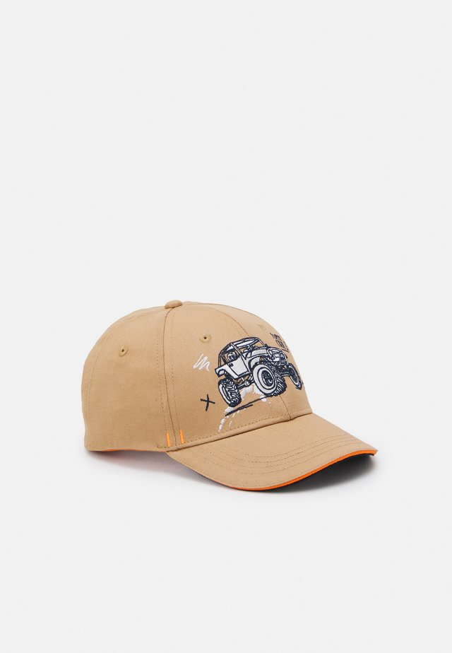 KIDS BOY MONSTERTRUCK - Cap - cashew/apricot