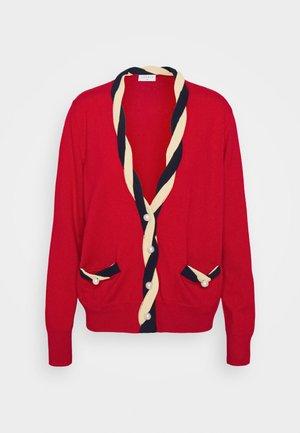 TRESSY - Cardigan - rouge