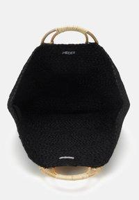 Pieces - PCLILLO BAG - Tote bag - black - 2