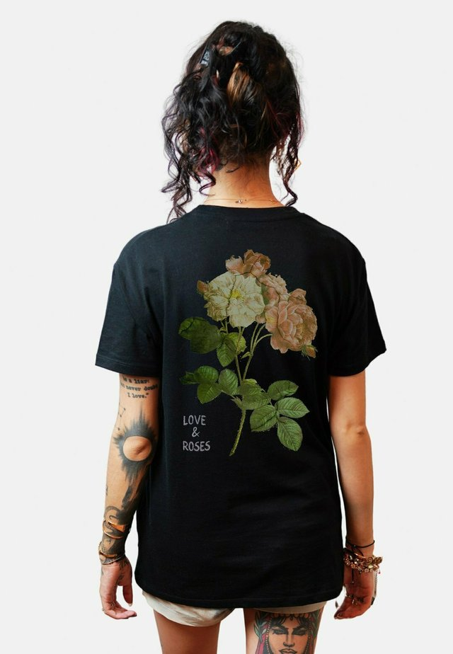 KARMA UNISEX - T-shirt print - black