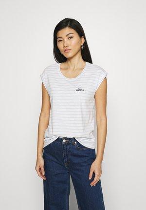 TEE - T-shirt print - pastel blue
