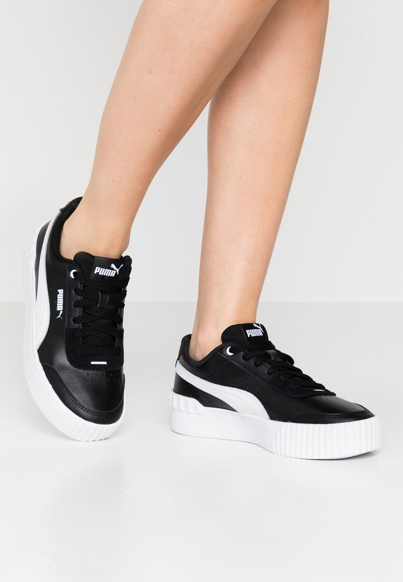 Puma - CARINA LIFT - Trainers - black/white