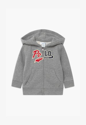 HOOD - Zip-up hoodie - league heather