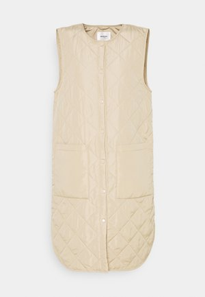 HAVEN DEYA WAISTCOAT - Waistcoat - white pepper