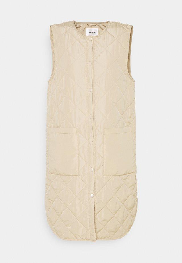 HAVEN DEYA WAISTCOAT - Vest - white pepper