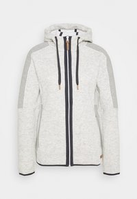 CMP - WOMAN JACKET FIX HOOD - Veste polaire - white - 4