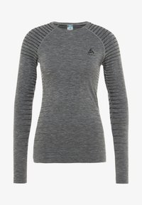 ODLO - CREW NECK PERFORMANCE LIGHT - Funkční triko - grey melange - 3