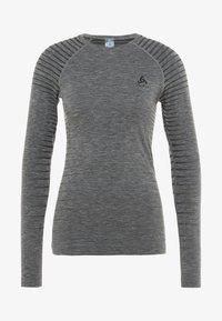 CREW NECK PERFORMANCE LIGHT - Sports shirt - grey melange