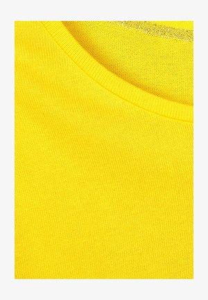 MIT FLEDERMAUSÄRMELN - Jumper - yellow