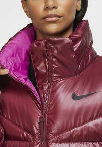 Nike Sportswear - PARKA - Down coat - dark beetroot cactus flower black - 5