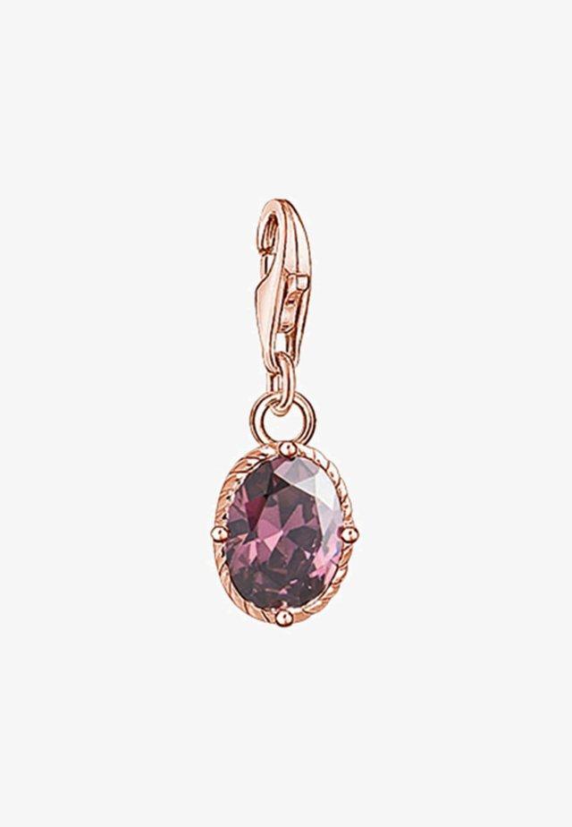 Hanger - rose gold-coloured/violet