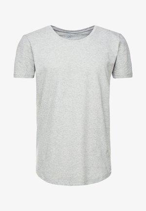 SHAPED TEE - T-shirt basic - grey mele
