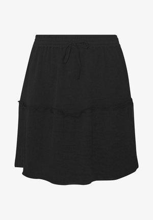 NMJUST SKIRT - Áčková sukně - black