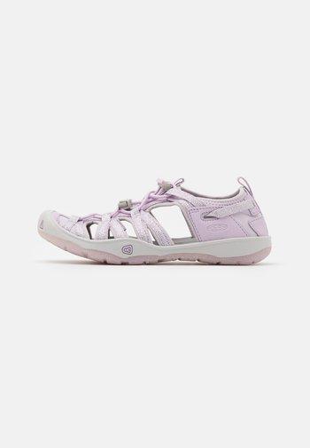 MOXIE UNISEX - Walking sandals - lavender fog/metallic