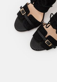 Pinko - FRANCINE - High heeled sandals - nero limousine
