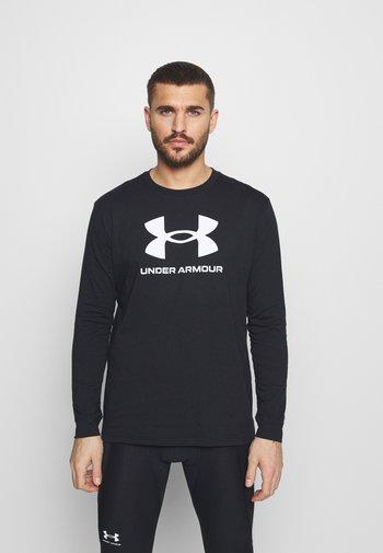 SPORTSTYLE LOGO - Langærmede T-shirts - black