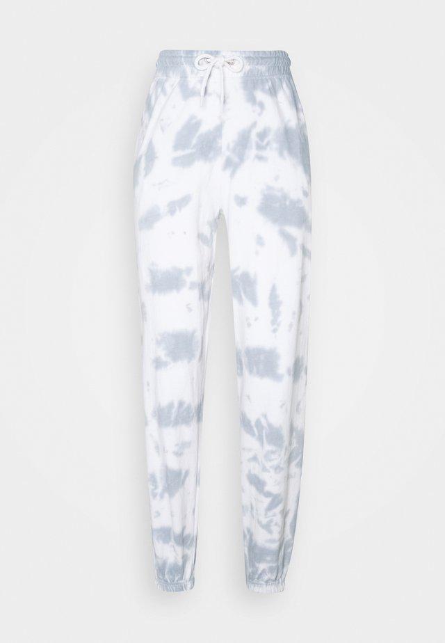 TIE DYE JOGGERS - Pantaloni sportivi - dark grey